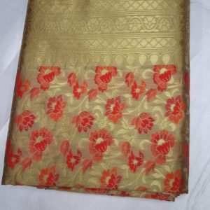 Banarasi Jaquard Full Jari Weaving Saree