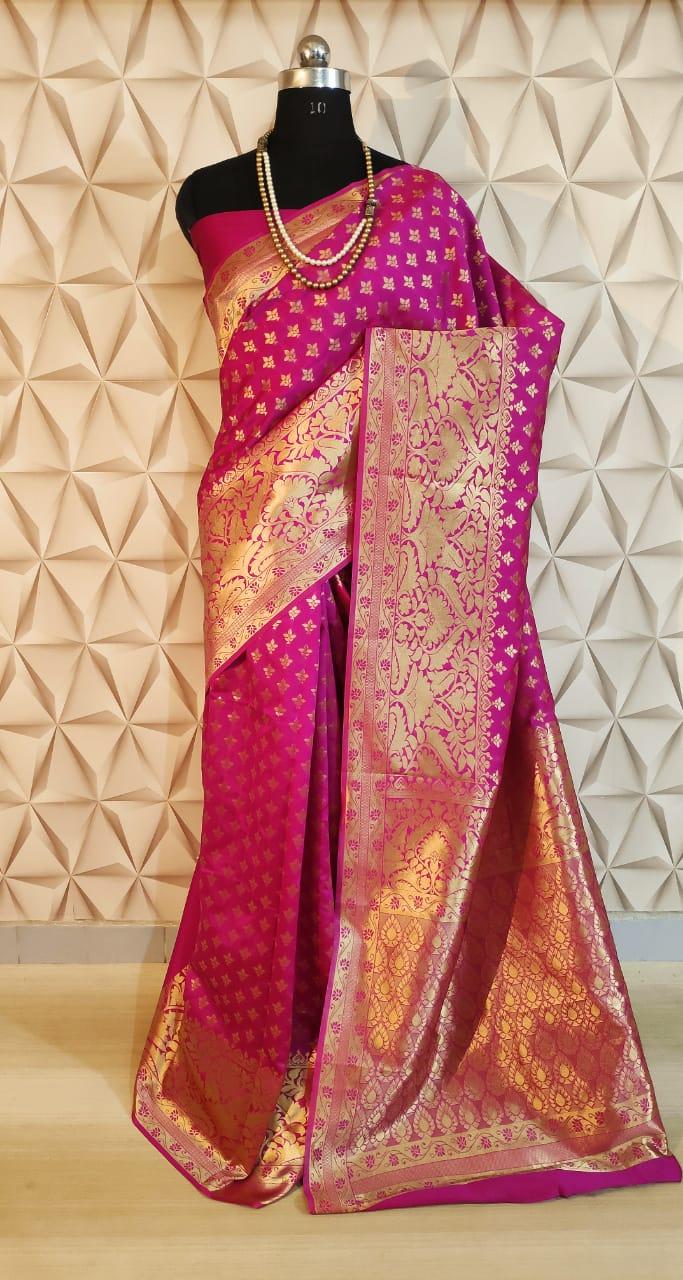 Banarasi Silk Blend Saree